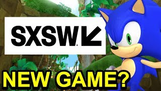 Sonic 2018 SXSW Panel Confirmed! - NEW Sonic Game or Sonic Movie 2019 INFO? - NewSuperChris