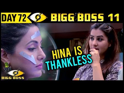 BIG BOSS 11 | Shilpa Shinde Insults Hina...