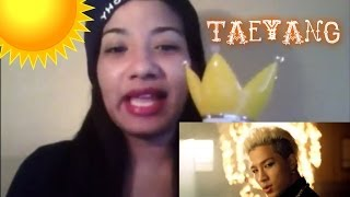 Taeyang (태양) 'Ringa Linga' (링가링가) MV Reaction Thumbnail