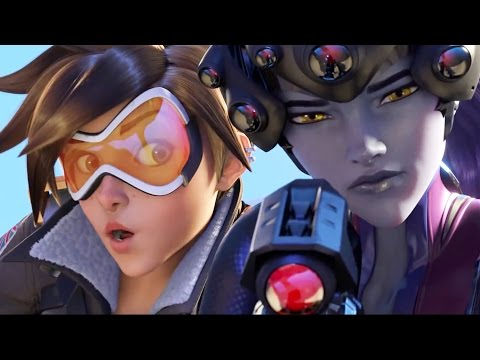 Overwatch All Cutscenes Movie (All Animated Cinematic Traile
