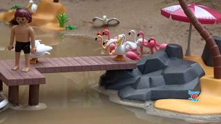 Playmobil Summer Fun Holiday Island Playset with Sea Animals Toys For Kids