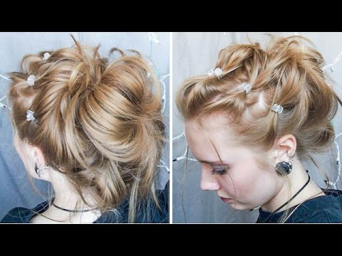 Easymessycuteelagent Possibly 90s Inspired Updo Youtube