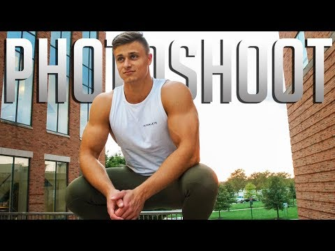 ALPHALETE PHOTO SHOOT | Chest and Bicep Workout at Ohio State thumbnail