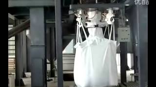 Big machine d'emballage de sac: sac d'une tonne d'engrais machine d'emballage
