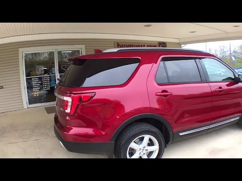 2016 Ford Explorer Canton, Waynesburg, Minerva, Steubenville, Carrollton, OH, Ohio U22036