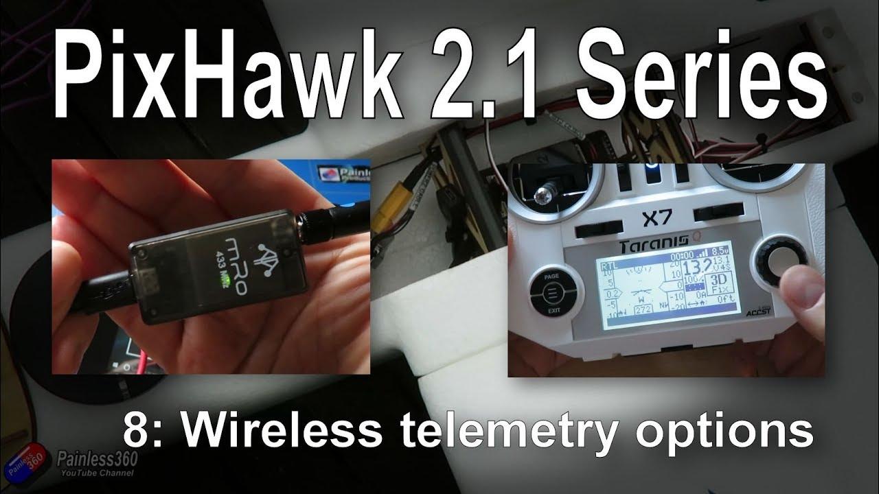 (8/9) Introduction to PixHawk 2 1: Wireless temetry options (3DR Radios and  FlightDeck)