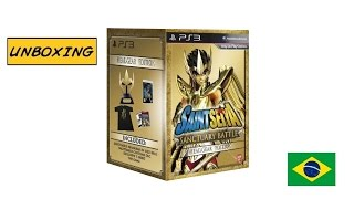 [Unboxing] PS3 Saint Seiya Sanctuary Battle Headgear Edition PT-BR