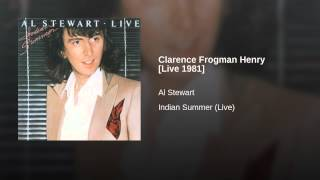 Clarence Frogman Henry [Live 1981]