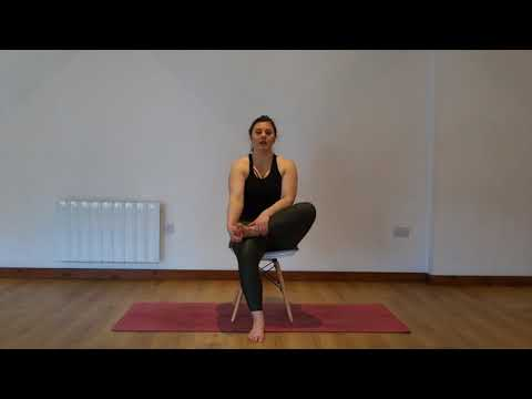 Yoga Osteo Strong Piriformis, Buttock & Outside Hip Stretch