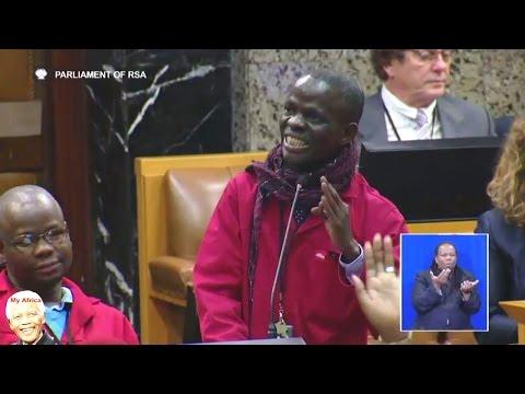 EFF Grills Minister Of Health Aaron Motsoaledi In Parliament