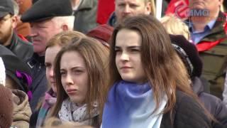 Акция против терроризма на площади Химиков