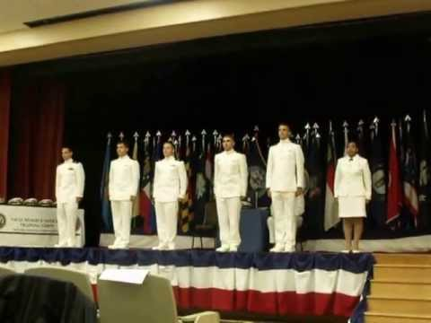 Auburn NROTC Spring Commissioning 2013