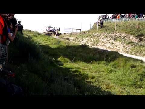 Rally de Portugal 2017 Fafe Jump - ESAPEKKA LAPPI/JANNE FERM