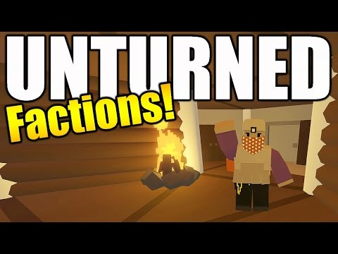 New Unturned Factions Server - Team Mojo Episode 2: Base Upgrades and Harbor Adventure!