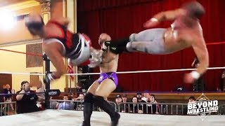 [Free Match] Beaver Boys vs. American Strong | Beyond Wrestling #Vitality (Tag Team PWG CZW EVOLVE)