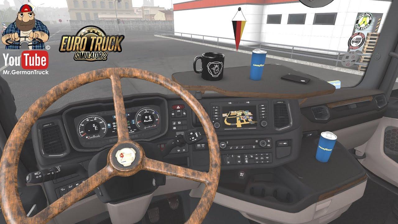 [ETS2 v1.37] Steering Wheel Vabis Pack for Scania RJL 6 Scania Next Gen