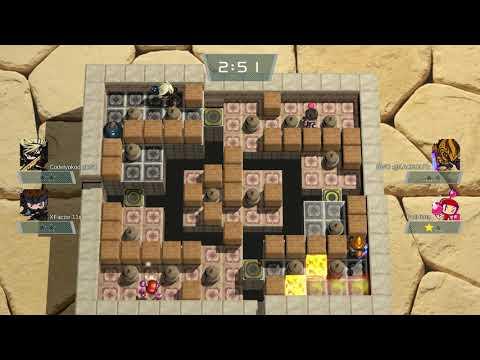 Super Bomberman R Solid Snake And Raiden 4 Player Online Versus Battle