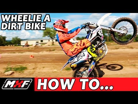 How To Wheelie a Dirt Bike Like a Pro in 3 Easy Steps!