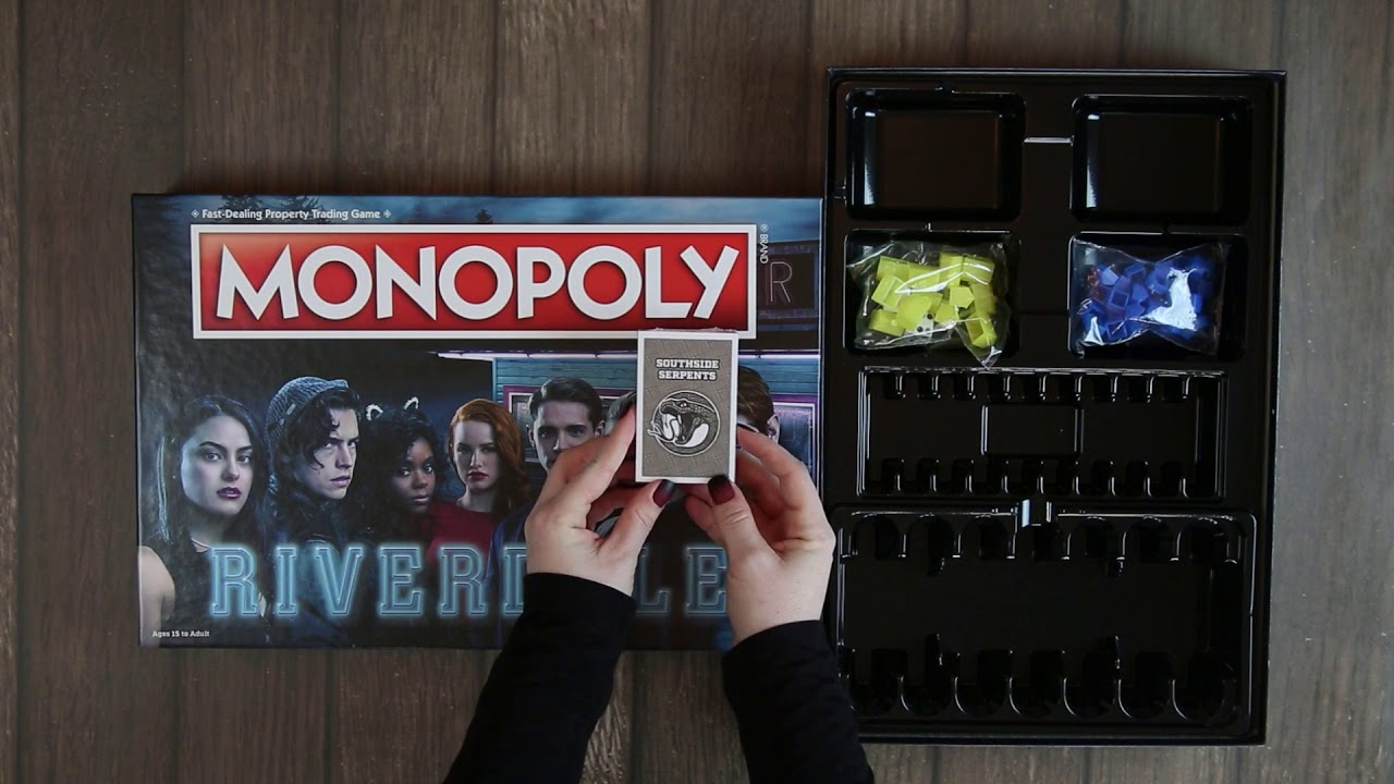 MONOPOLY: Riverdale Unboxing - YouTube