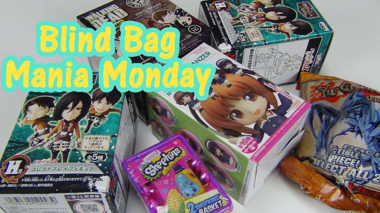 Blind Bag Mania Monday Attack On Titan Girls Und Panzer