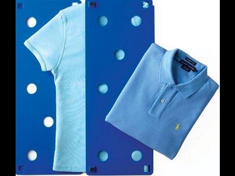 Doblar ropa de forma rapida como doblar una camiseta - Truco para doblar camisetas ...