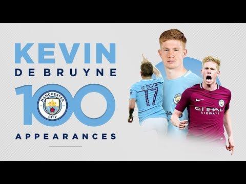 KEVIN DE BRUYNE - 100 GAMES | Best Man City Moments!