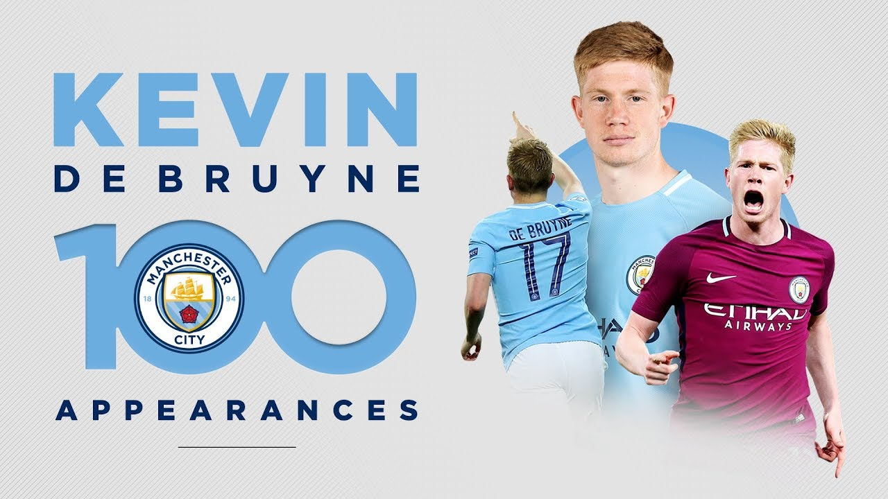 KEVIN DE BRUYNE - 100 GAMES | Best Man City Moments! - YouTube