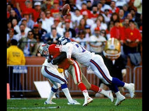 1990 NFC Championship Game Giants at 49ers