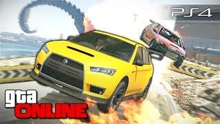 GTA 5 Online (PS4) - Смертельная гонка! #117