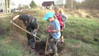 30. März 2017 öWiE e.V. organisiert erste Baumflanzaktion in Elsterwerda