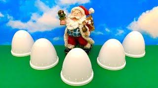 Santa Claus Surprise eggs Fun ❤️ जाड़ा बाबा, आश्चर्य अंडे