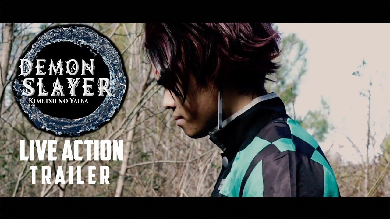 Demon Slayer Live Action Teaser Trailer Youtube