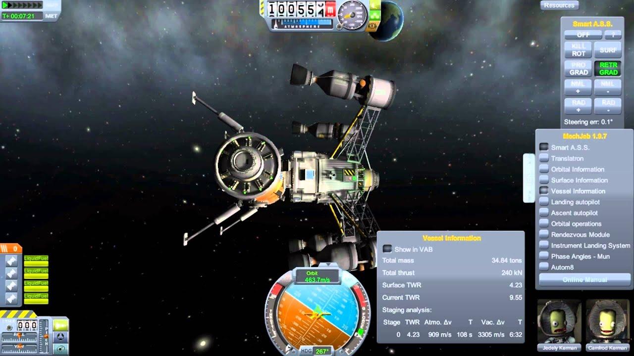 Kerbal Space Program Reusable Space Program Episode 18