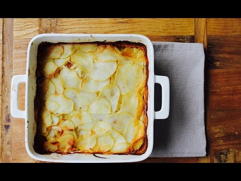 Easy Recipe: How To Make A Simple French Onion Potato Bake