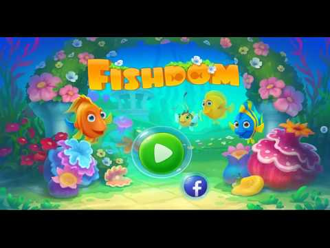 Fishdom,aquarium Fish,play Puzzle Kids Game
