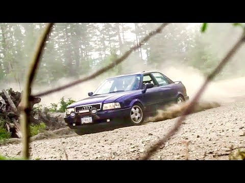 We Destroyed this Mountain in an Audi Quattro Rally Car!
