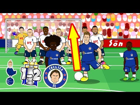 ⚽SPURS 1-2 CHELSEA⚽ When the Spurs Go Marching In! (They're gonna lose)