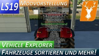 "[""LS19"", ""FS19"", ""Landwirtschafts Simmulator"", ""Modvorstellungen"", ""Playtest"", ""gameplay"", ""Hof Hirschfeld"", ""Hirschfeld Logistics"", ""Farming Simmulator"", ""Courseplay"", ""Modding"", ""Mod"", ""VehicleSort"", ""Fahrzeuge sortieren"", ""VehicleExplorer"", ""VeGS"", ""Ve"