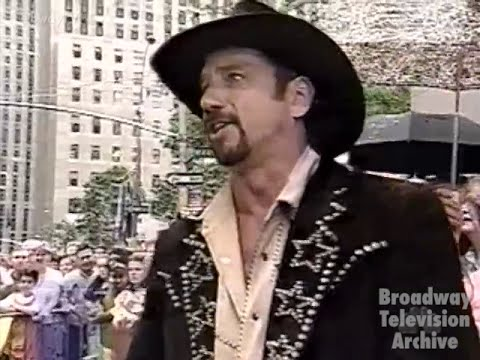 """Tom Wopat - """"No Business Like Show Business"""" - ANNIE GET YOUR GUN (Today Show 10-Jul-1999)"""