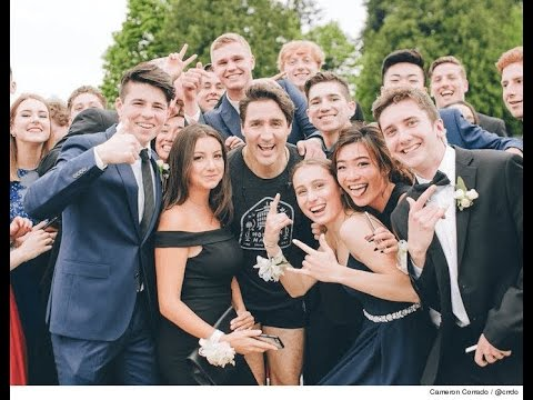 Justin Trudeau PHOTOBOMBS Prom While Jogging! | What's Trending Now!