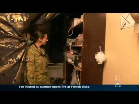 Lifestyle for Australian soldiers in Afghanistan