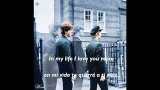in my life subtitulado the beatles