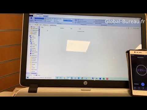Global Bureau test de numérisation E87640Z
