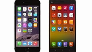 xiaomi mi note и iphone 6 plus сравнение