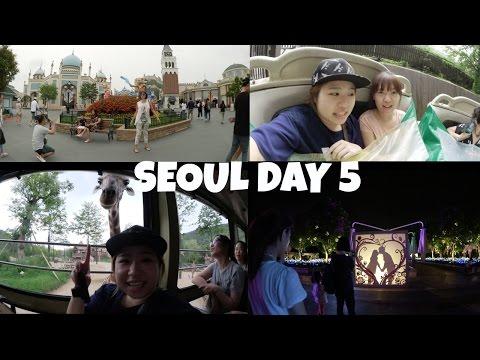 Korea Seoul trip day 5 Everland