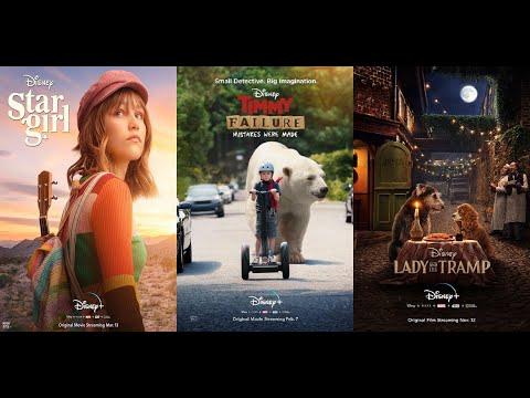 Disney+ original movies: Stargirl, Timmy Failure, Lady And The Tramp