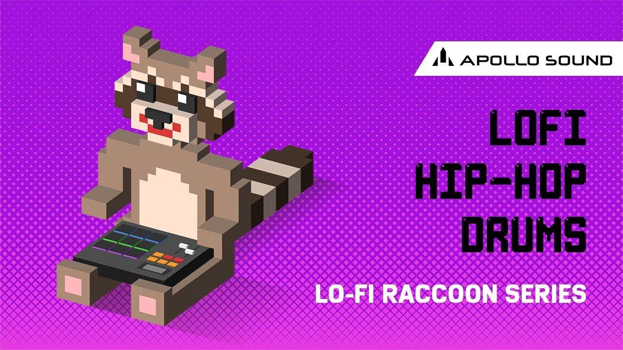 Lo Fi Hip Hop Drums ☆ Lofi Drum Kit • Hip Hop Drum Samples