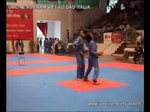 Song Luyen Kiem Italia 1st World Vovinam Champ 2003