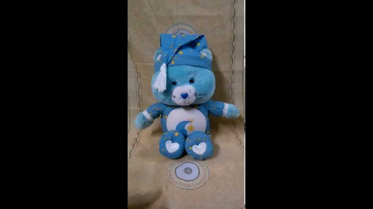 Lullaby Bedtime Bear Talks Sings Musical Light-Up glow By ...