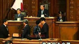 2011.6.2内閣不信任決議案 採決